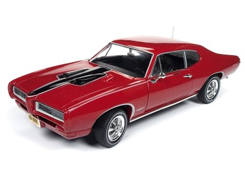 Autoworld 1:18 1968 Pontiac Gto Royal Bob.*D