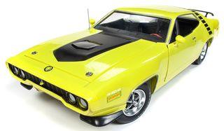 Autoworld 1:18 1971 Plymouth RoadrunnerHt *D