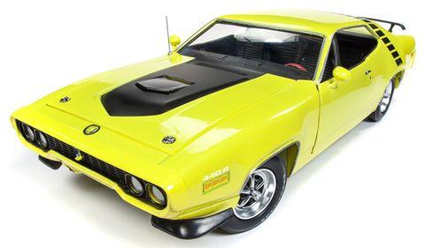 1:18 1971 Plymouth RoadRunner HT *D