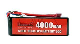 Redback Batt. 18.5V Lipo 4000Mah 30CFlight