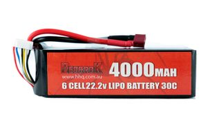 Redback Batt. 22.2V Lipo 4000Mah 30CFlight