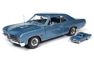 Autoworld 1:18 1967 Buick Gt Ht W/64 Scale *D