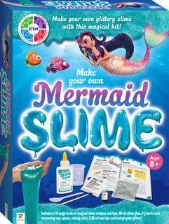 Hinkler Make Your Own Mermaid Slime Kit