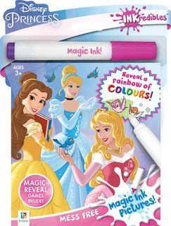 Hinkler Inkredibles Disney Princess Magic Ink