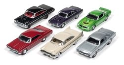 Johnny Lightning 1:64 Autoworld PremiumAssort(Inc 6Cars)