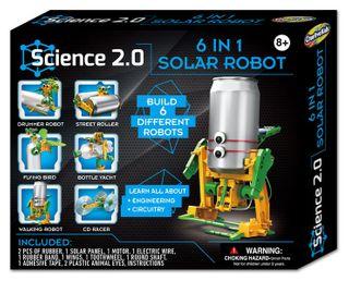 Hinkler 6 In 1 Solar Robot