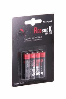 Redback Battery AAA Alkaline Battery 1.5V (4Pcs)