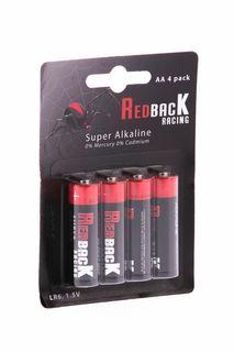 Redback Battery AA Alkaline Battery 1.5V(4Pcs)