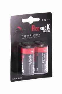 Redback Battery C Alkaline Battery 1.5V(2Pc)