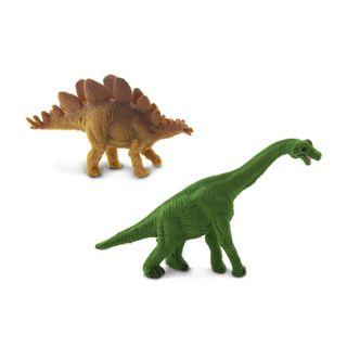 Safari Ltd Brachiosaurus & StegosaurusGood Luck M