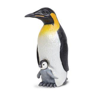 Safari Ltd Emperor Penguin With Baby Incredible Cr