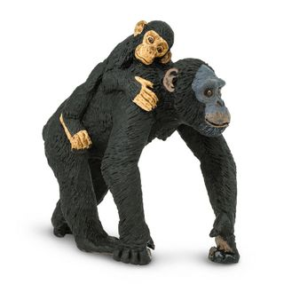 Safari Ltd Chimpanzee With Baby Wild Safari Wildli