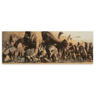 Safari Ltd Poster - Deluxe Dino PanoramaSafariolo