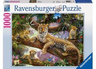 Ravensburger Leopard FamilyPuzzle 1000P
