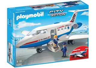 Playmobil City Action Passenger Plane