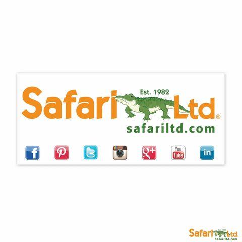 Safari Ltd Safari Window Decal 9 X 4