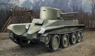 Hobbyboss 1:35 Soviet Bt-2 Tank(Early)