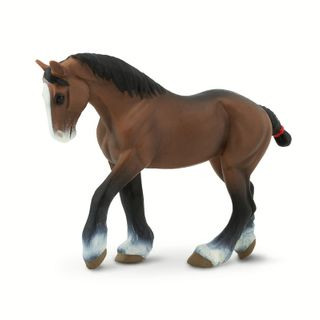 Safari Ltd Clydesdale Mare Wc Horses *D