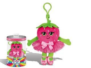 Whiffer Sniffers Strawberry Twirl Backpack Clip