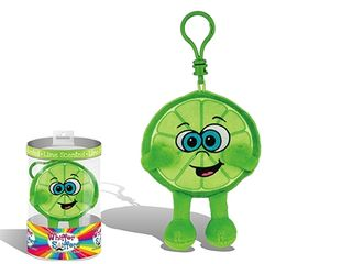 Whiffer Sniffers Louie Lime Backpack Clip