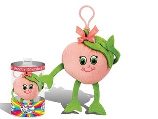 Whiffer Sniffers Georgia Backpack Clip Peach Scented