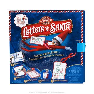Elf On The Shelf Elf Letters To Santa