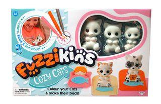 Fuzzikins Fuzzikins Colour In Friend Cozy Cats