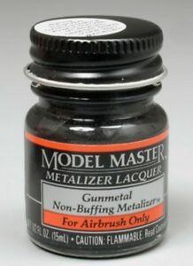 Model Master Gun Metal Metalizer 14.7Ml