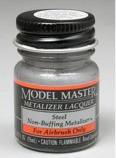 Model Master Steel Metalizer 14.7Ml