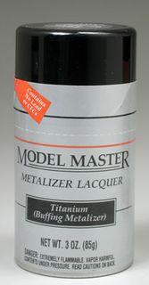 Model Master Titanium Metalizer 85Gm Spray