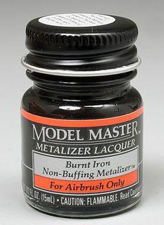 Model Master Burnt Iron Metalizer 14.7Ml