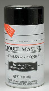 Model Master Stainless Steel Metalizer 85Gm Spray