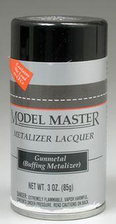 Model Master Gunmetal Metalizer 85Gm Spray