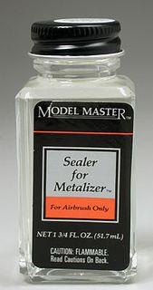 Model Master Sealer 1 3/4 Oz Metalizer 52Ml*