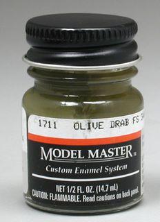 Model Master Olive Drab(Fs34087) Enamel14.7Ml
