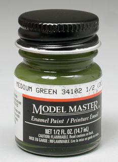 Model Master Medium Green(Fs34102) Enamel 14.7Ml