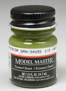 Model Master Interior Green(Fs34151) Enam 14.7Ml