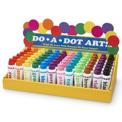 Do A Dot Art Primary Display