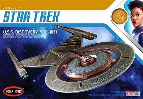 Polar Lights 1:2500 Star Trek U.S.S. Discovery 2T
