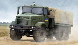 Hobbyboss 1:35 Ukraine Kraz-6322 SoldierCargo T *