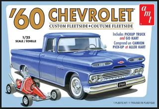 AMT 1:25 1960 Chevy Custom Fleetside Pickup