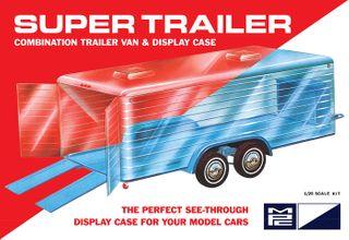 MPC 1:25 Super Display Case Trailer