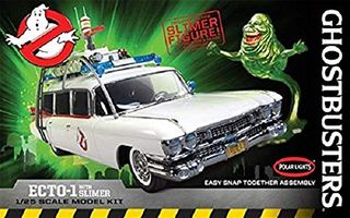 1:25 Ghostbusters Ecto-1 w/Slimer Fig *D
