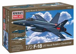 Minicraft 1/72 F-18 Usn Centennial