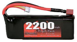 Redback Batt. 11.1V Lipo 2200Mah 20CFlight