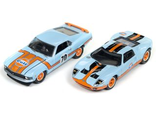 Johnny Lightning 1:64 Jl Nissan Or Ford(2 Pack)