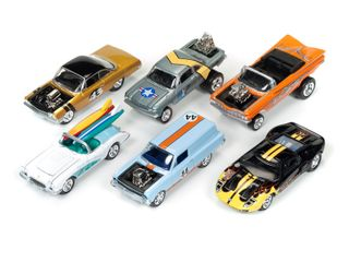 Johnny Lightning 1:64 Jl Street Freaks Wave3A(12Cars 2Ea)