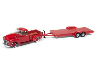 Johnny Lightning 1:64 Jl Truck And Trailer Rel.7A