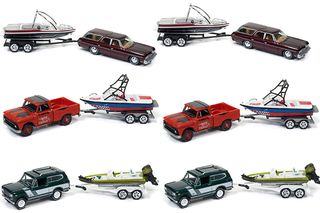 Johnny Lightning 1:64 Jl Gone Fishing Rel.4A