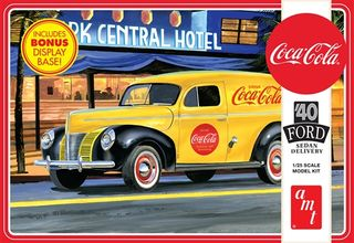 AMT 1:25 1940 Ford Sedan Delivery Coca Cola